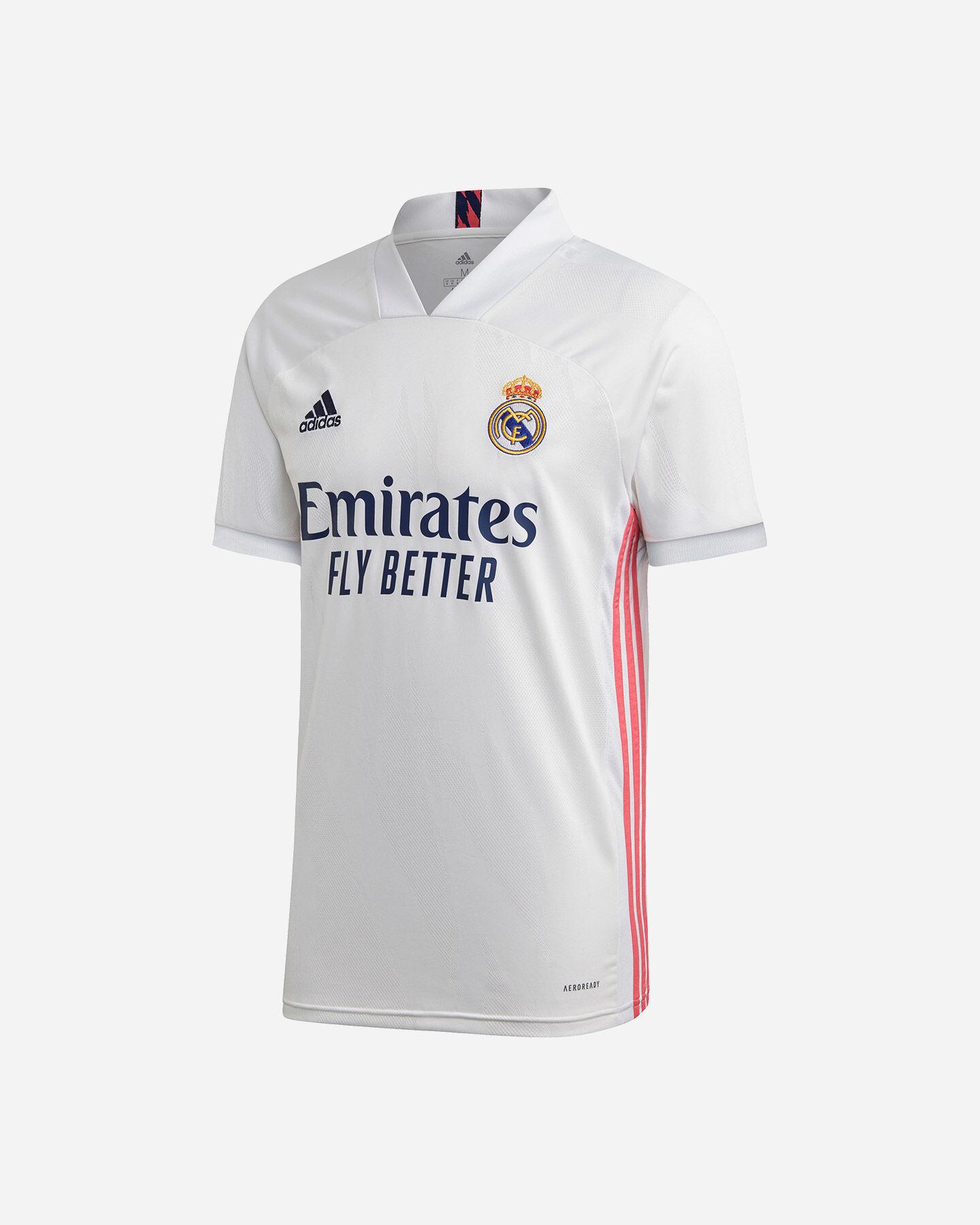 ZGDGG Maglie da Uomo Maglia da Calcio Real Madrid Fútbol 2020-21 ...