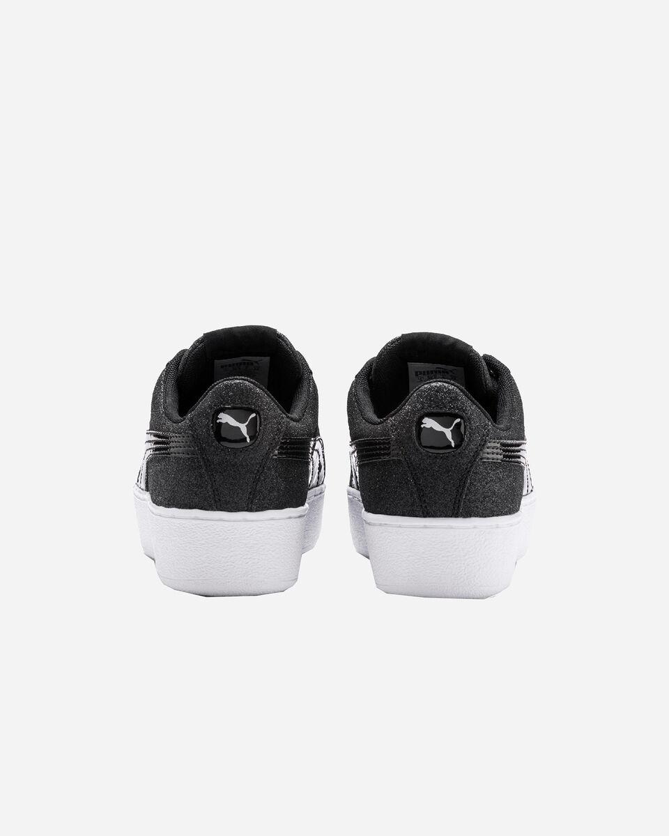 Scarpe sneakers PUMA VIKKY PLATFORM GLITZ JR GS S5087505 scatto 4