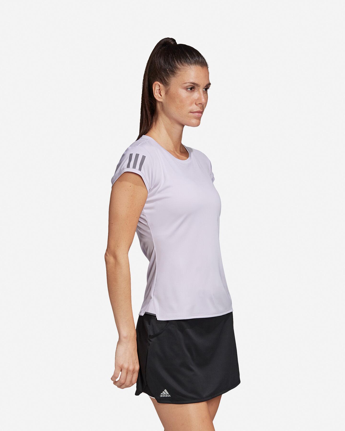 T-Shirt tennis ADIDAS 3-STRIPES CLUB W S5155173 scatto 3