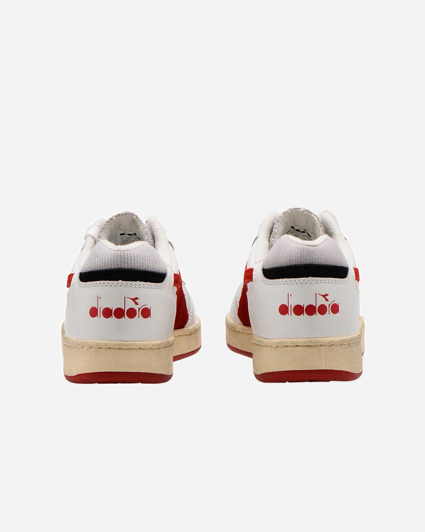 Scarpe sneakers DIADORA MI BASKET LOW USED M S5226859 scatto 4