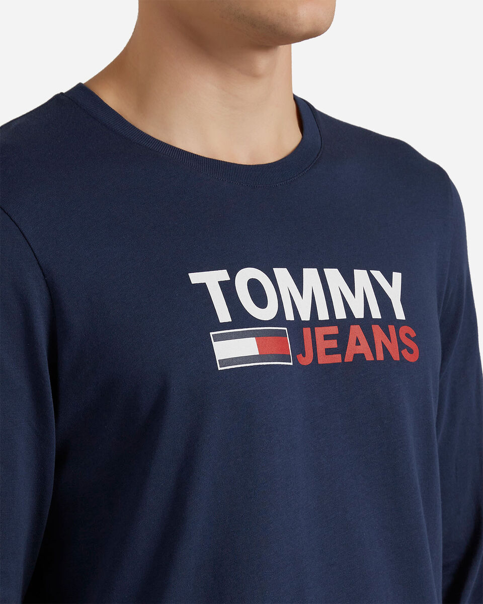 T-Shirt TOMMY HILFIGER LOGO M S4083707 scatto 4