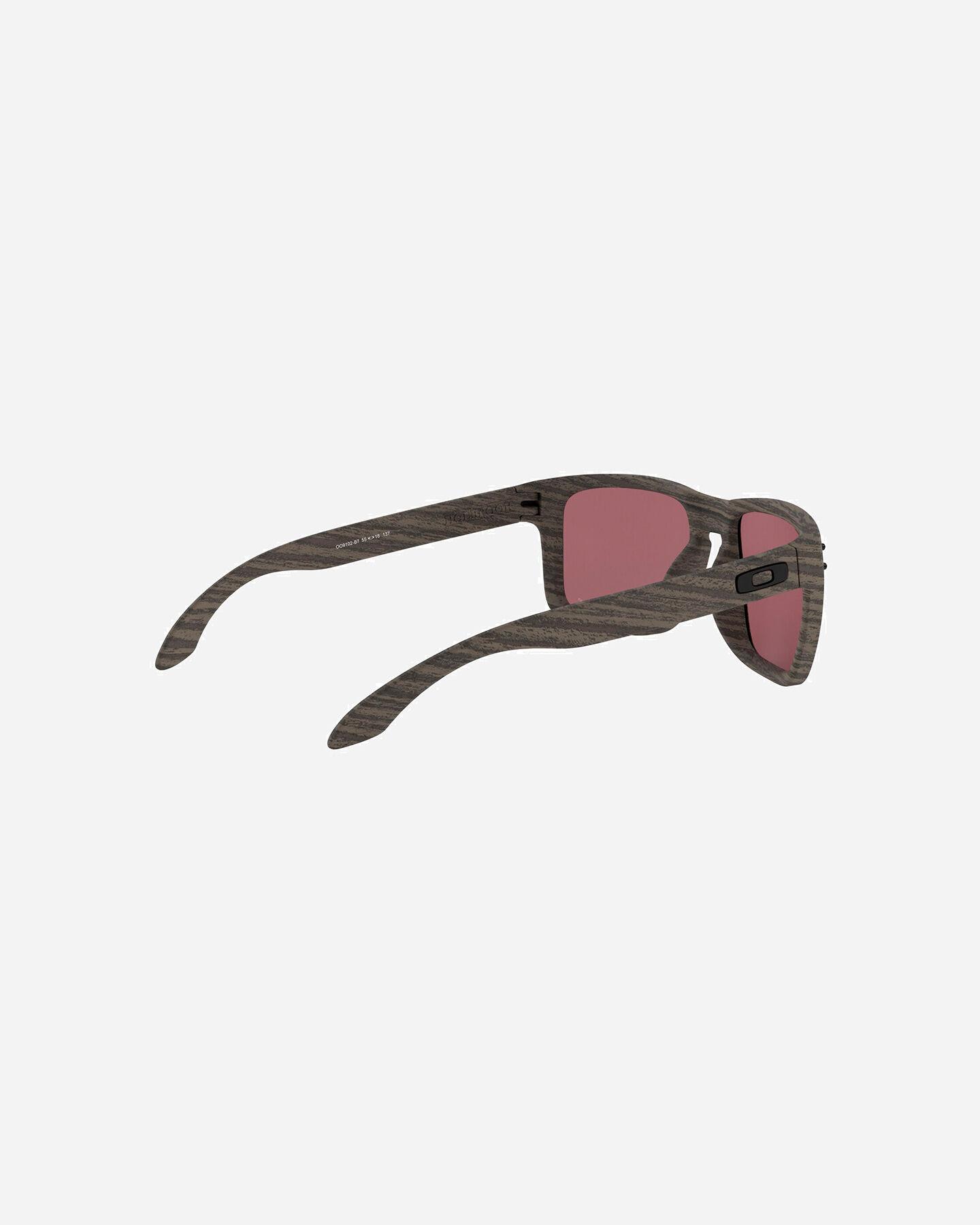 Occhiali OAKLEY HOLBROOK WOODGRAIN PRIZM S4002501 9999 UNI scatto 2