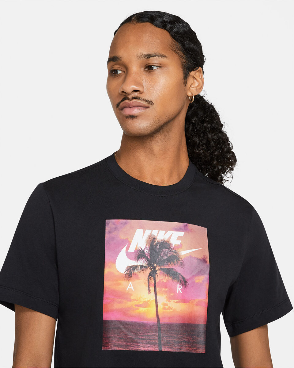 T-Shirt NIKE SPRING PHOTO PALM M S5270121 scatto 2