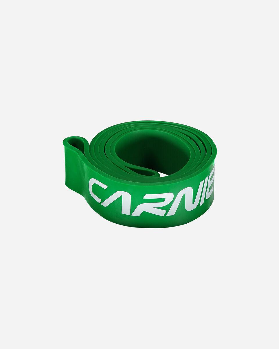 Accessorio palestra CARNIELLI POWER BAND CARNIELLI CM 4,5 VERDE S5265994|508|UNI scatto 0