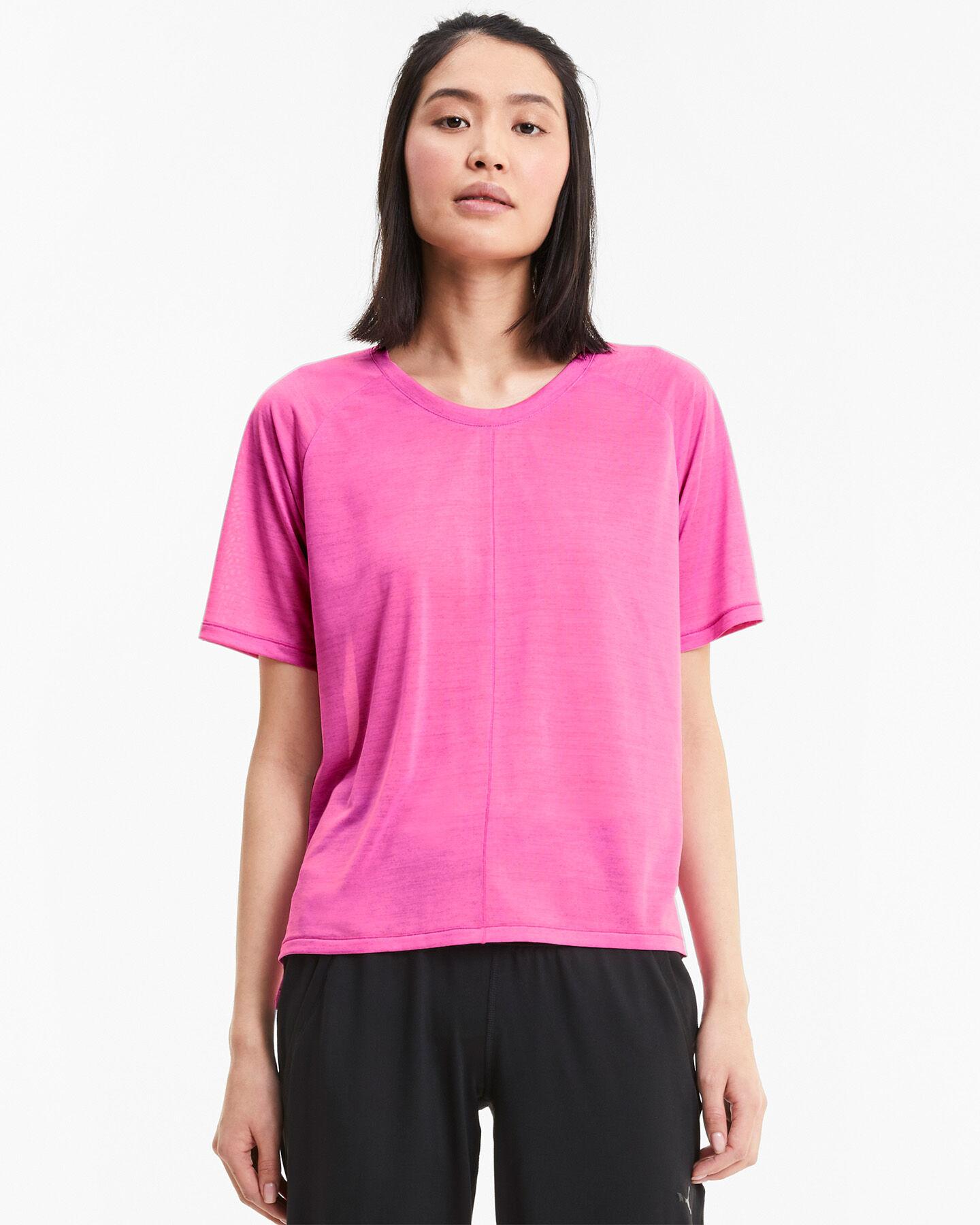 T-Shirt training PUMA DRIFIT LOGO W S5234838 scatto 2