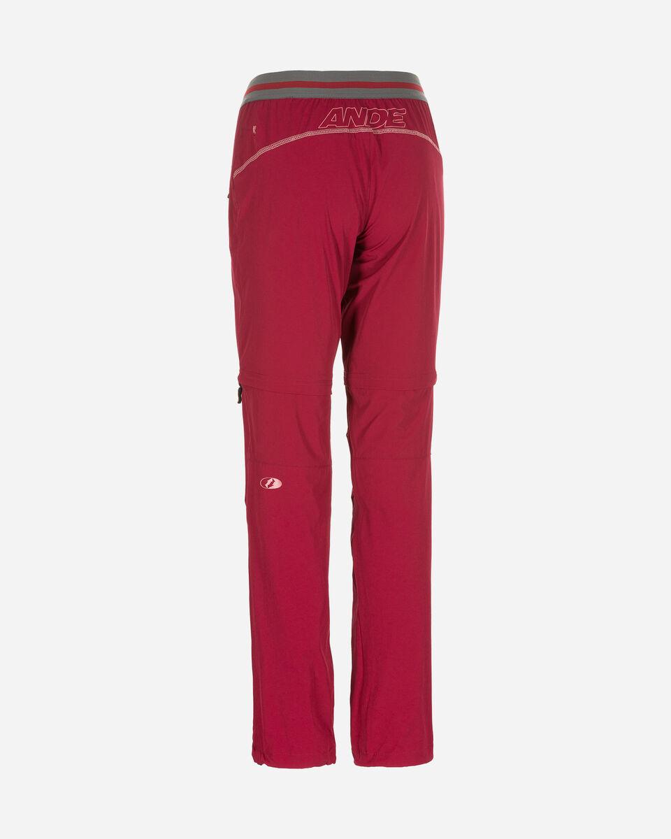 Pantalone outdoor ANDE  BADIA ZIP OFF W S4084785 scatto 1
