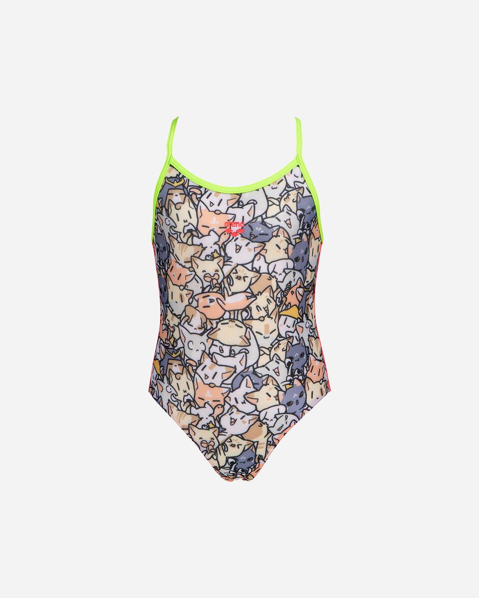 Costume piscina ARENA KITTIES ONE PIECE JR S5265379 scatto 1