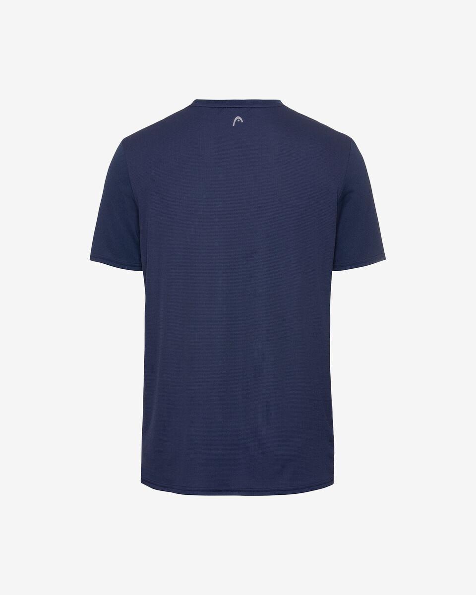 T-Shirt tennis HEAD SLIDER M S5251656 scatto 1