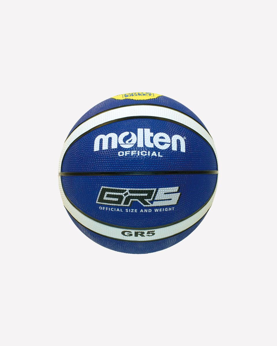 Pallone basket MOLTEN GR5 MIS.5 S0695416 1 UNI scatto 0