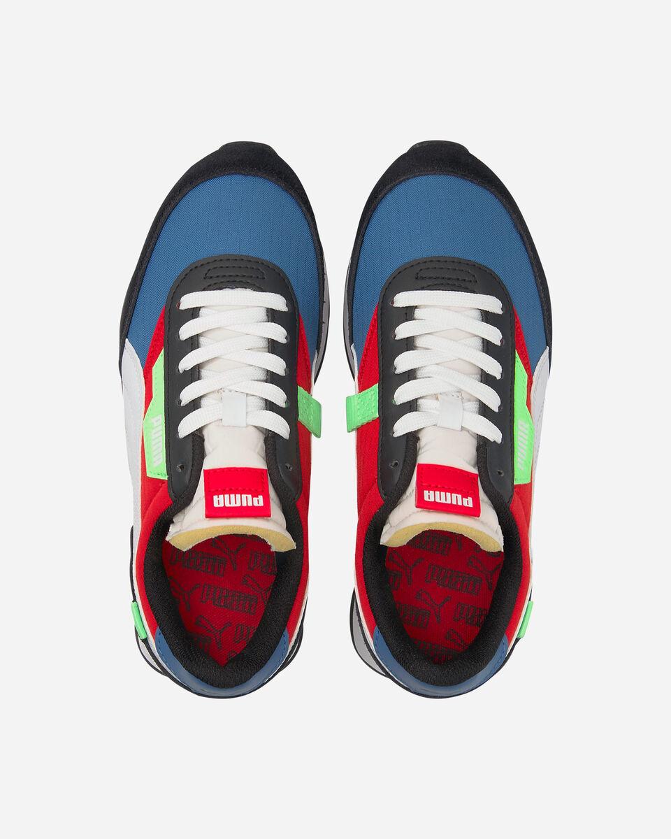 Scarpe sneakers PUMA FUTURE RIDER PLAY ON GS JR S5283249 scatto 3