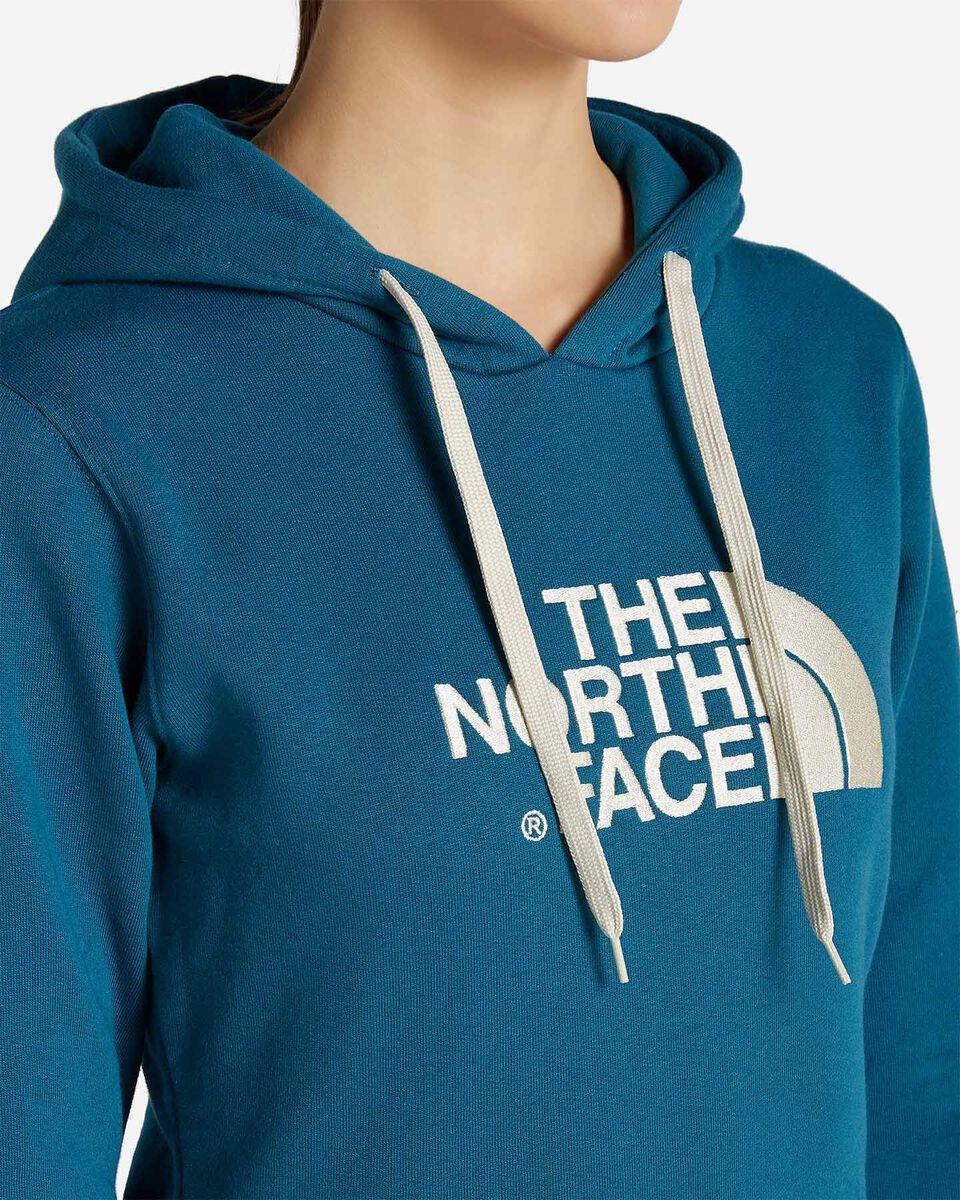 Felpa THE NORTH FACE DREW PEAK W S5086571 scatto 4