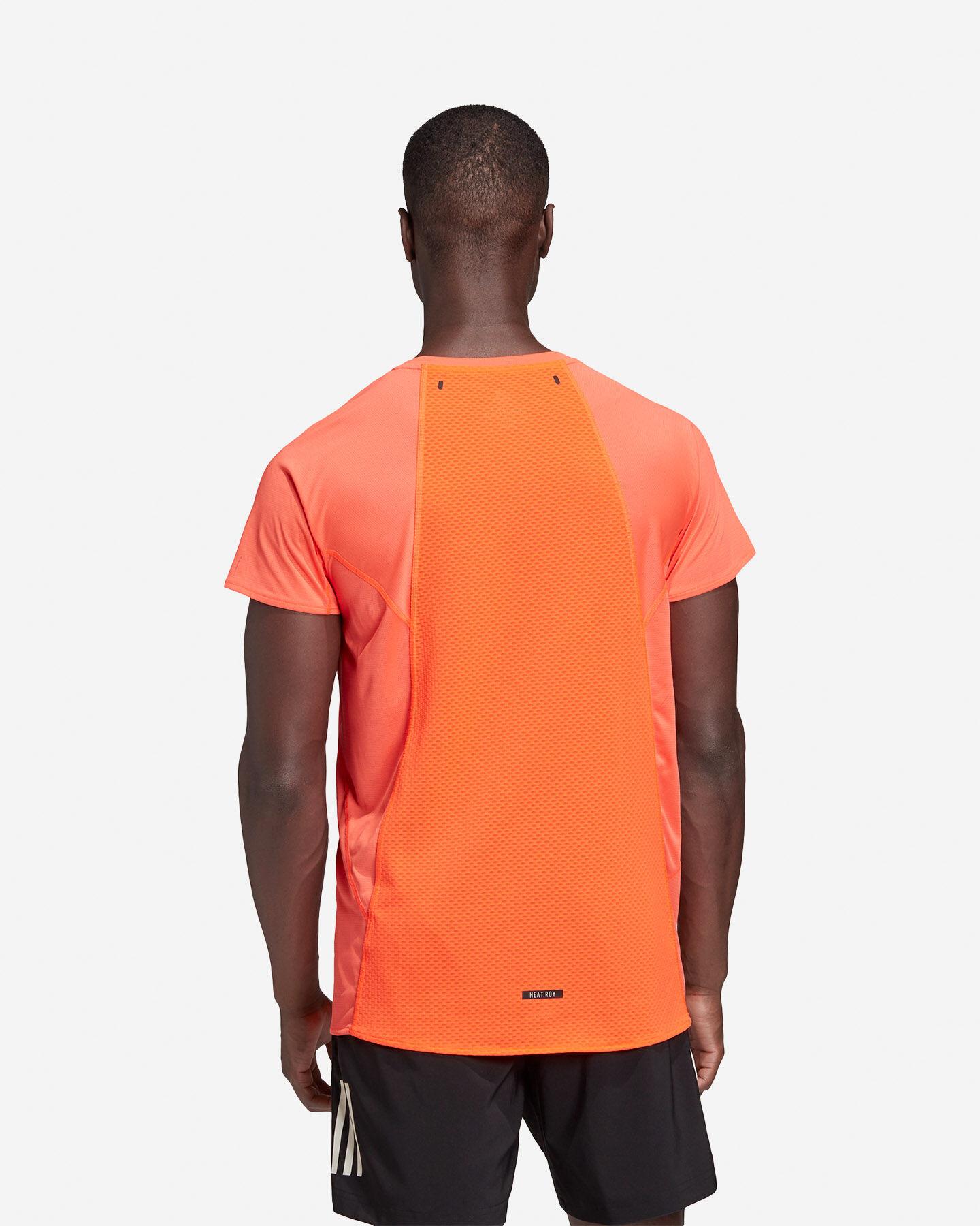 T-Shirt running ADIDAS HEAT.RDY M S5154890 scatto 4