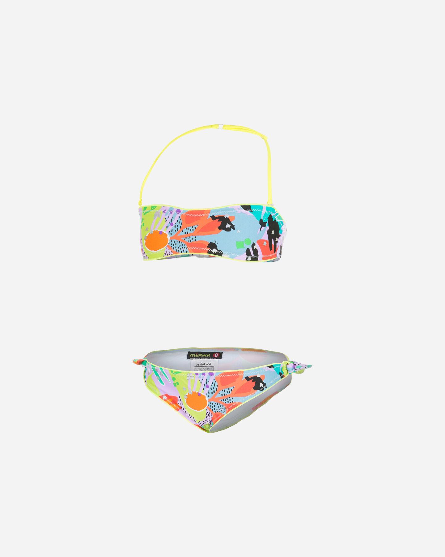 Bikini MISTRAL FLOWER FLUO JR S4089667 scatto 0