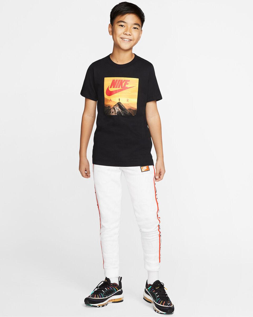 T-Shirt NIKE AIR PHOTO JR S5165058 scatto 5