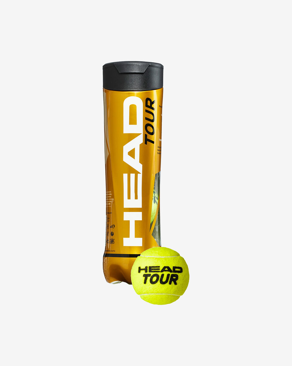 Palle tennis HEAD TOUR 4 S5122978 UNI UNI scatto 0
