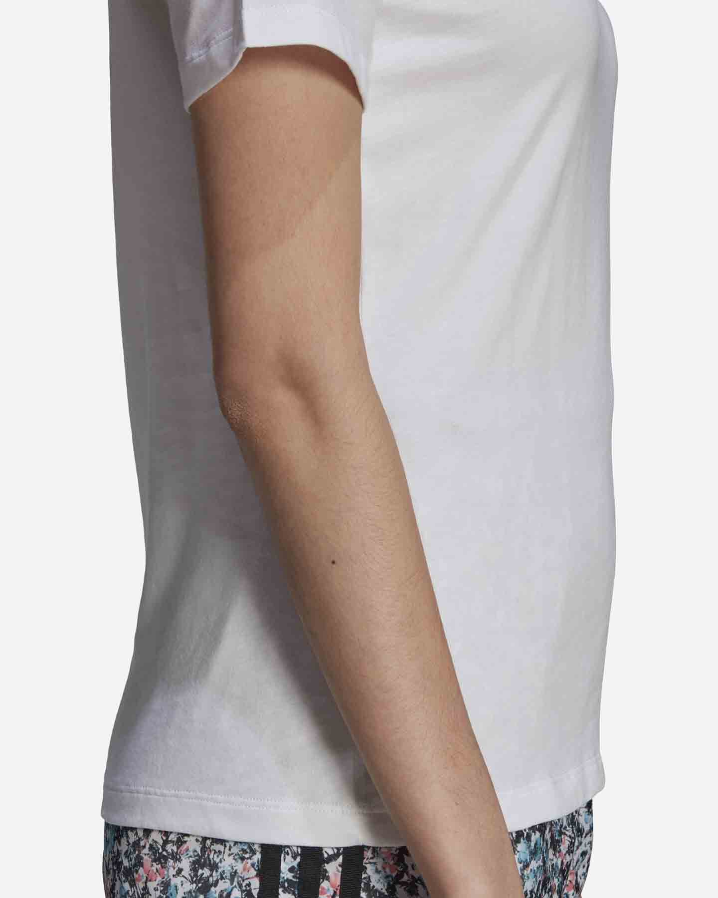 T-Shirt ADIDAS FLOWER W S5271153 scatto 5