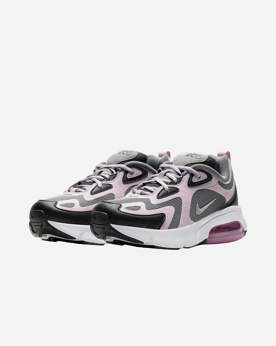 Scarpe sneakers NIKE AIR MAX 200 GS JR S5161544 scatto 1