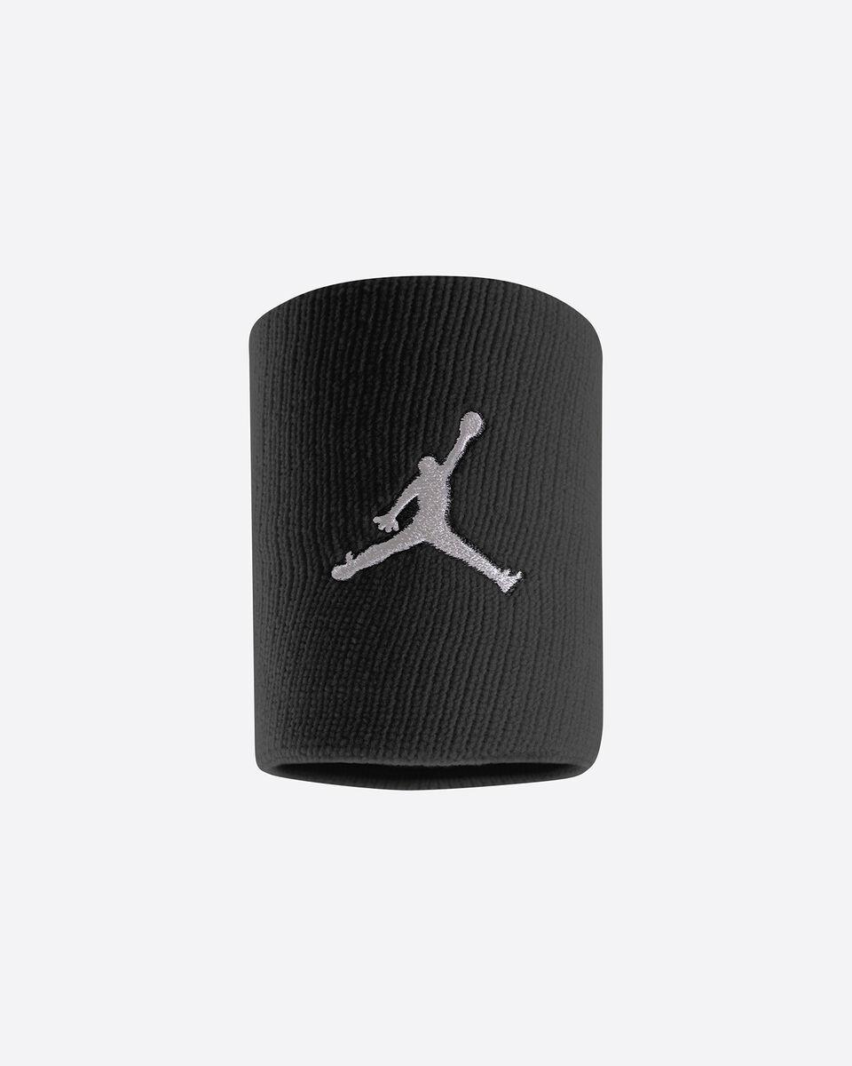 Accessorio basket NIKE JORDAN JUMPMAN WRISTBANDS S4015854|NERO|UNI scatto 0