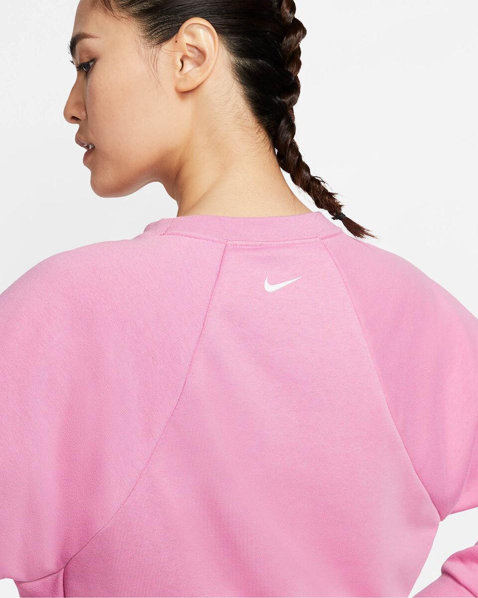 Felpa training NIKE DRI-FIT GET FIT W S5164958 scatto 5