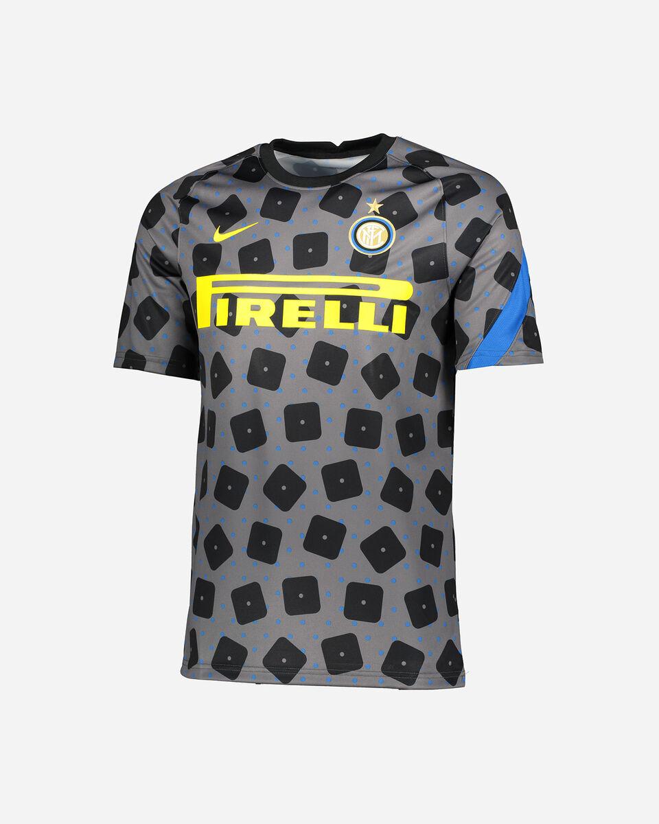 Abbigliamento calcio NIKE INTER PREMATCH UCL 20-21 M S5225150 scatto 0