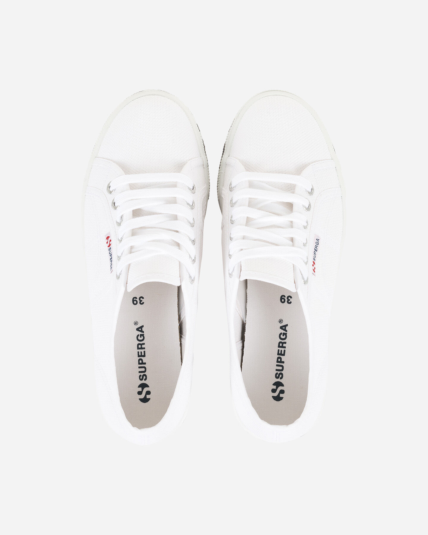 Sneakers superga 2790 cotw outsole lettering bianco
