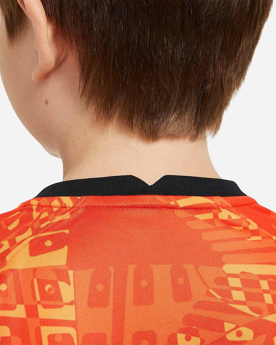 Abbigliamento calcio NIKE ROMA PRE MATCH 20-21 JR S5225158 scatto 3