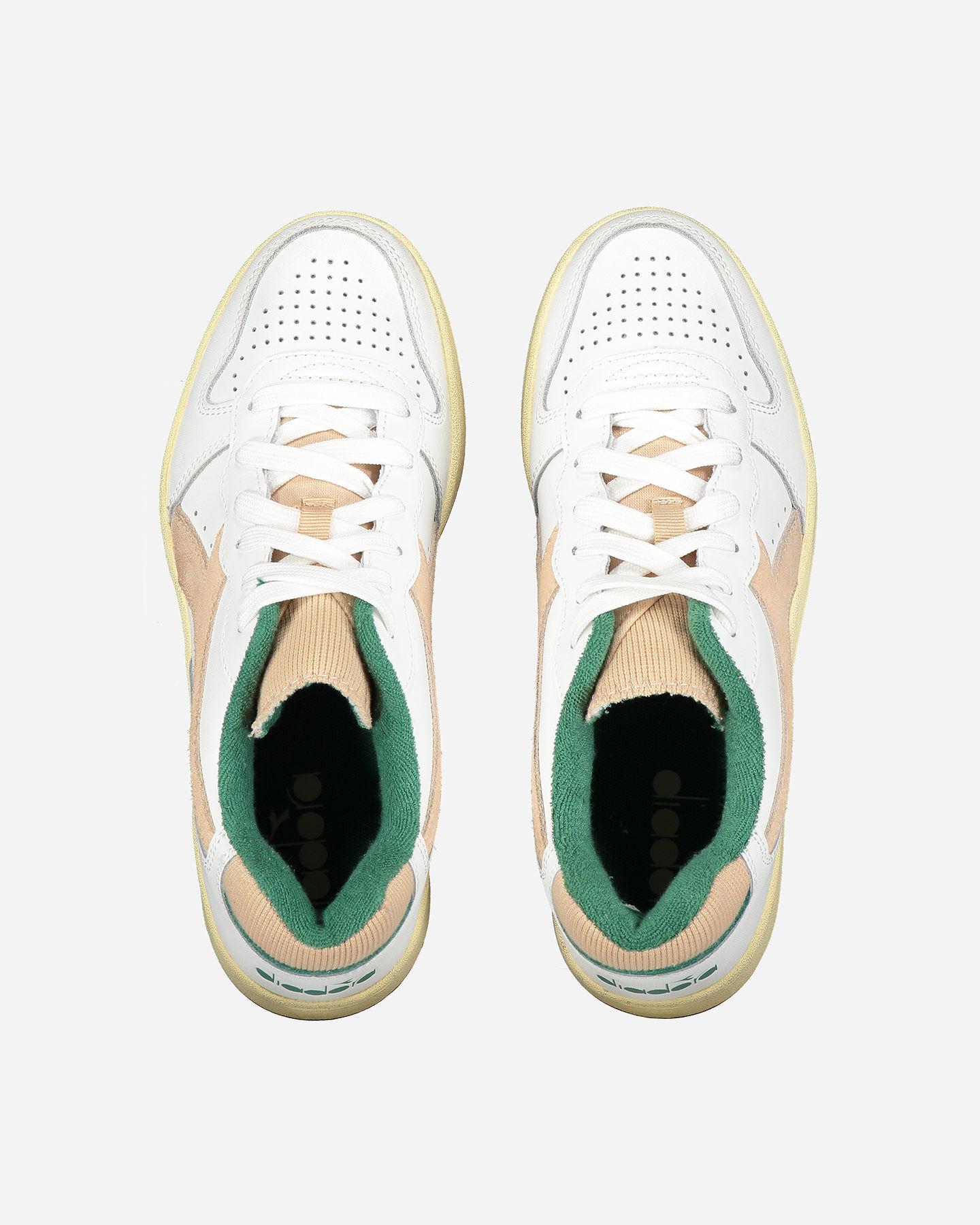 Scarpe sneakers DIADORA MI BASKET LOW USED WN W S5226855 scatto 3