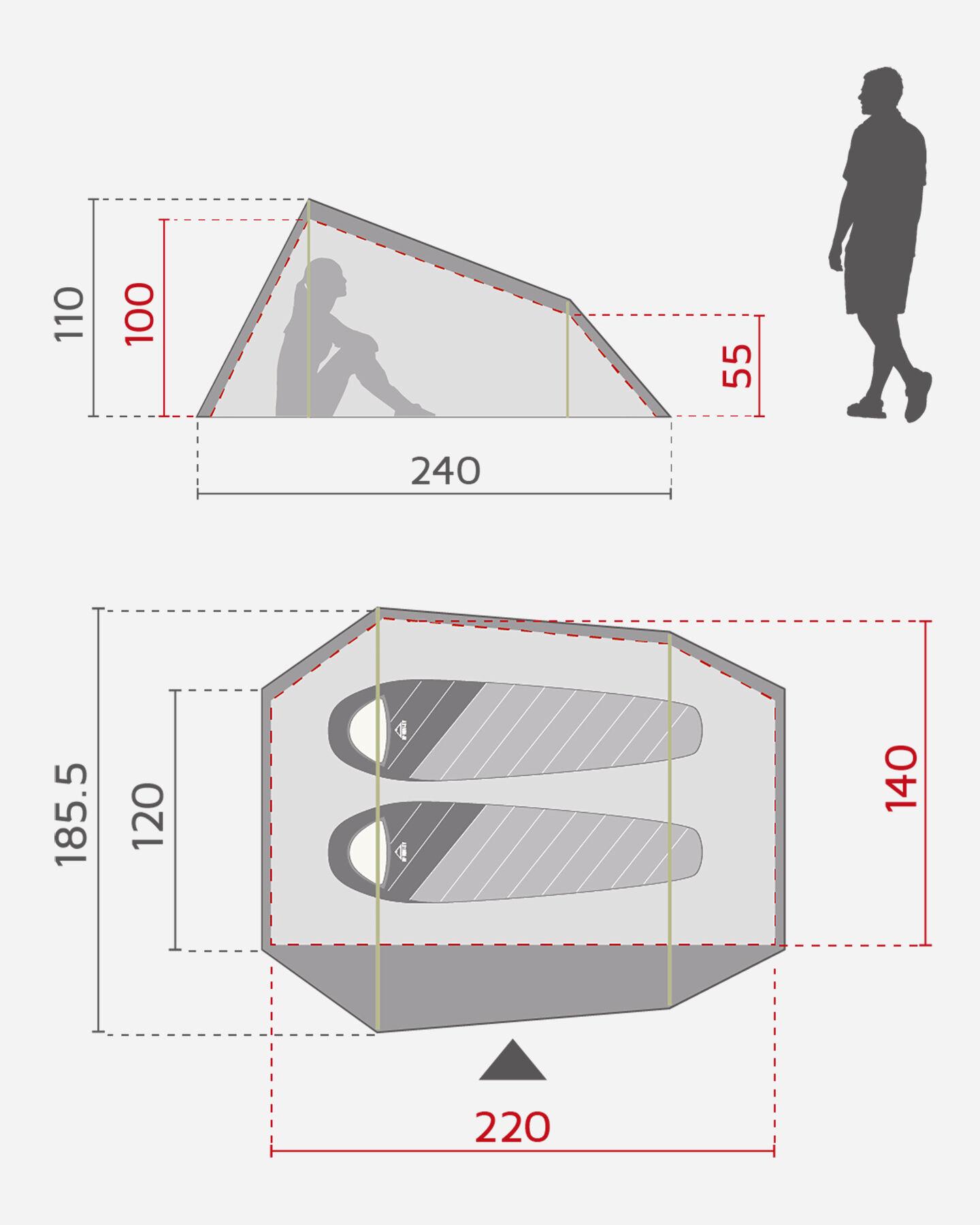 Tenda MCKINLEY ESCAPE 20.2 S2004623 900 - scatto 2