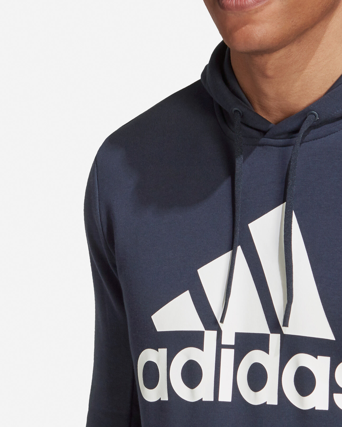 Felpa ADIDAS BADGE OF SPORT FRENCH TERRY HOODIE M S5219260 scatto 5