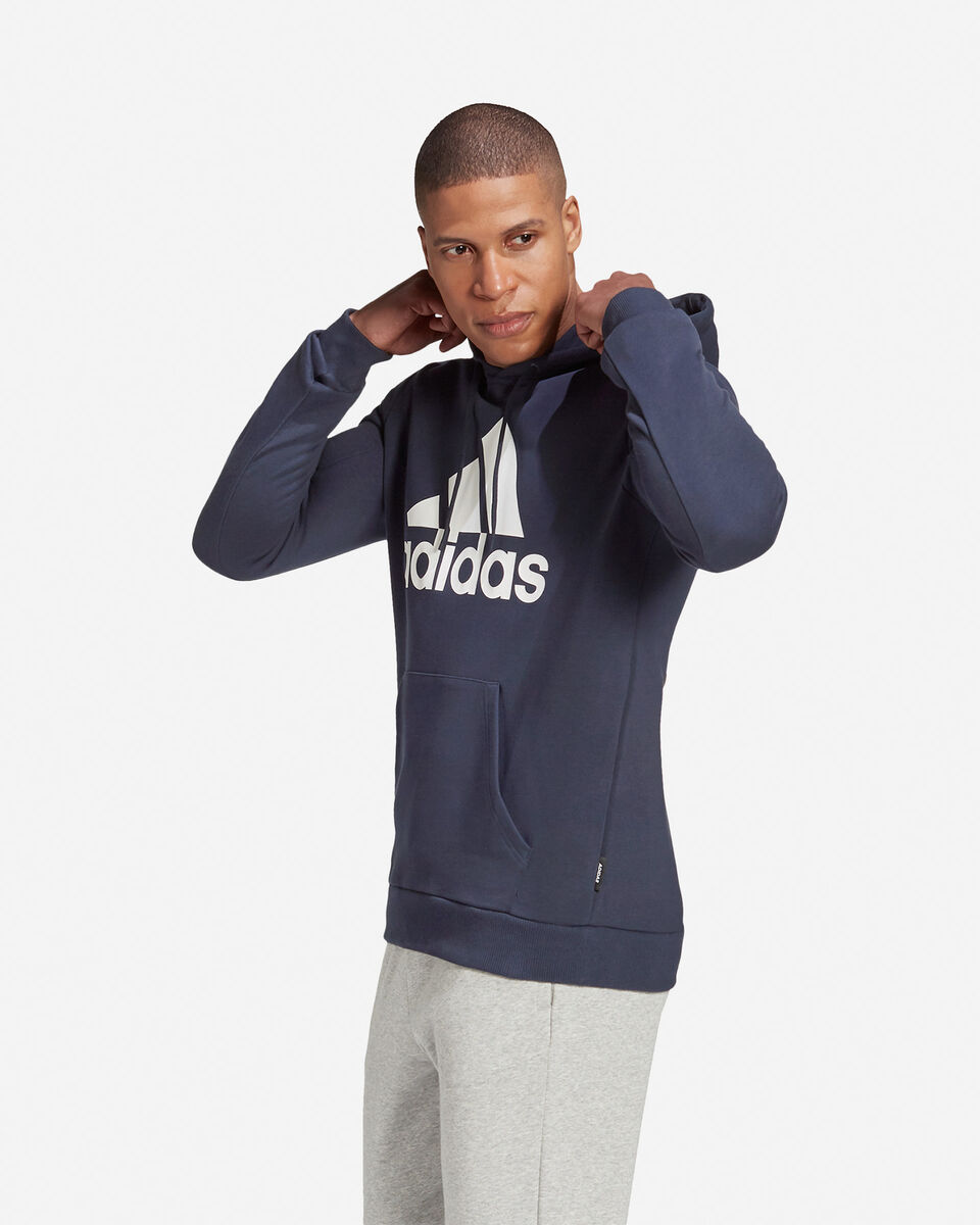 Felpa ADIDAS BADGE OF SPORT FRENCH TERRY HOODIE M S5219260 scatto 3