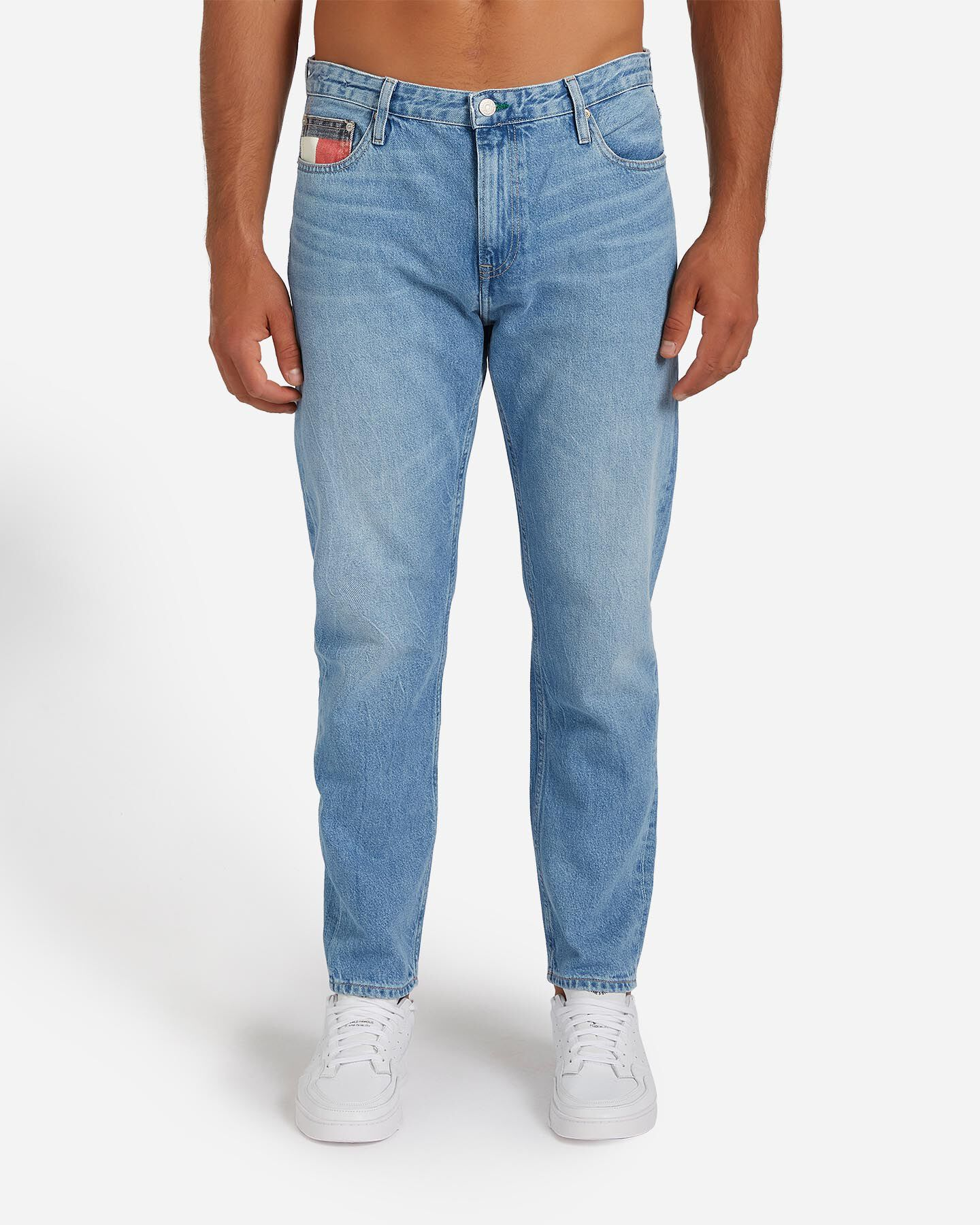 Jeans TOMMY HILFIGER DAD STRAIGHT M S4082066 scatto 0