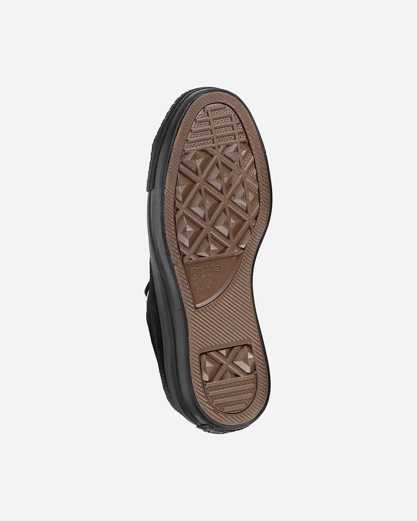scarpe converse platform con pailletes
