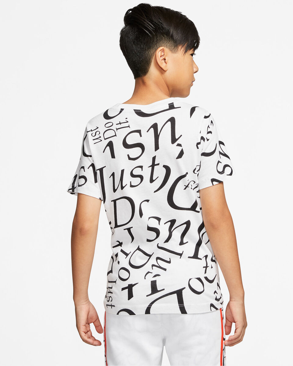 T-Shirt NIKE LETTER JR S5165051 scatto 3
