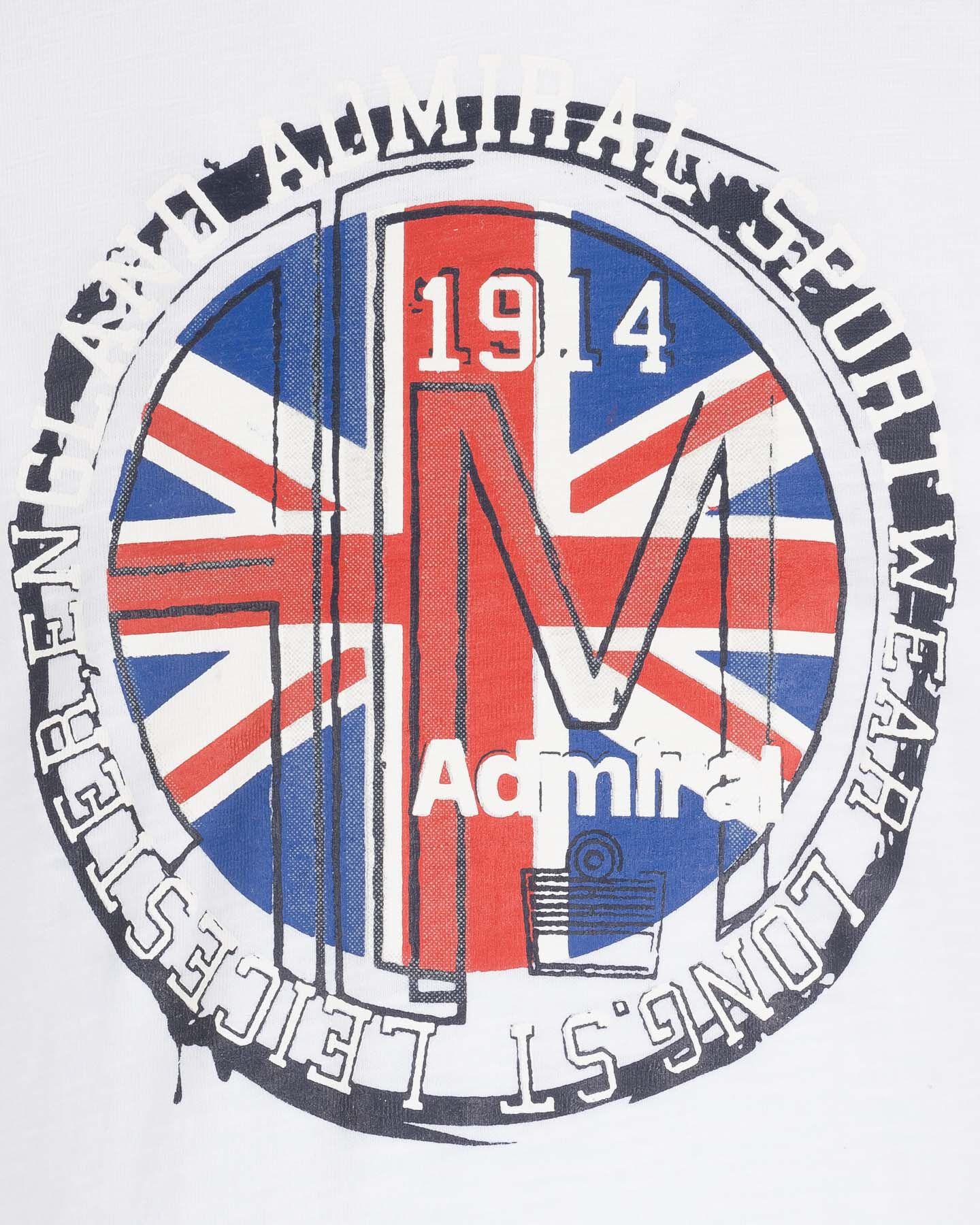T-Shirt ADMIRAL BOLLO ENGLISH JR S4087658 scatto 2