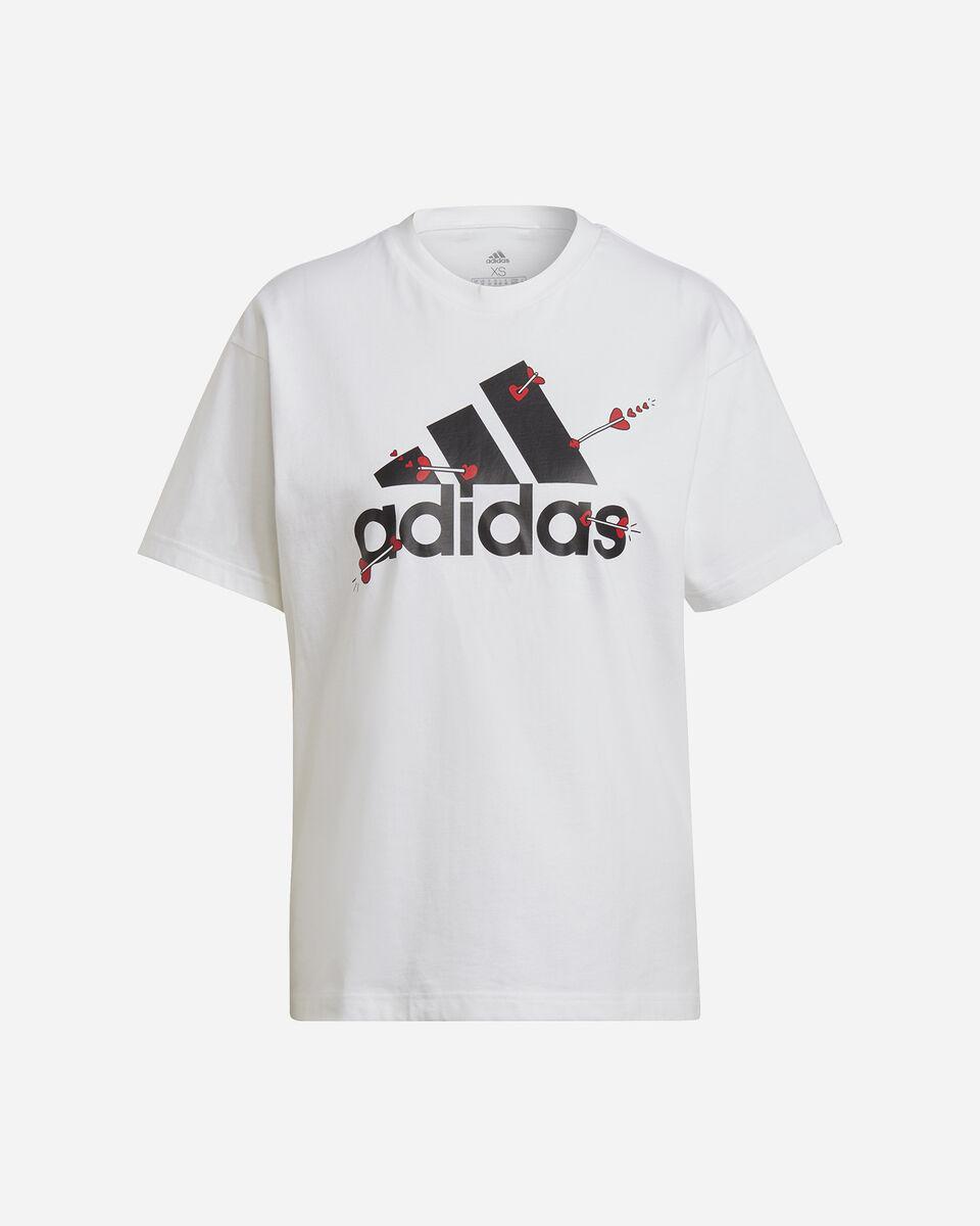 T-Shirt ADIDAS VALENTINE W S5274725 scatto 0