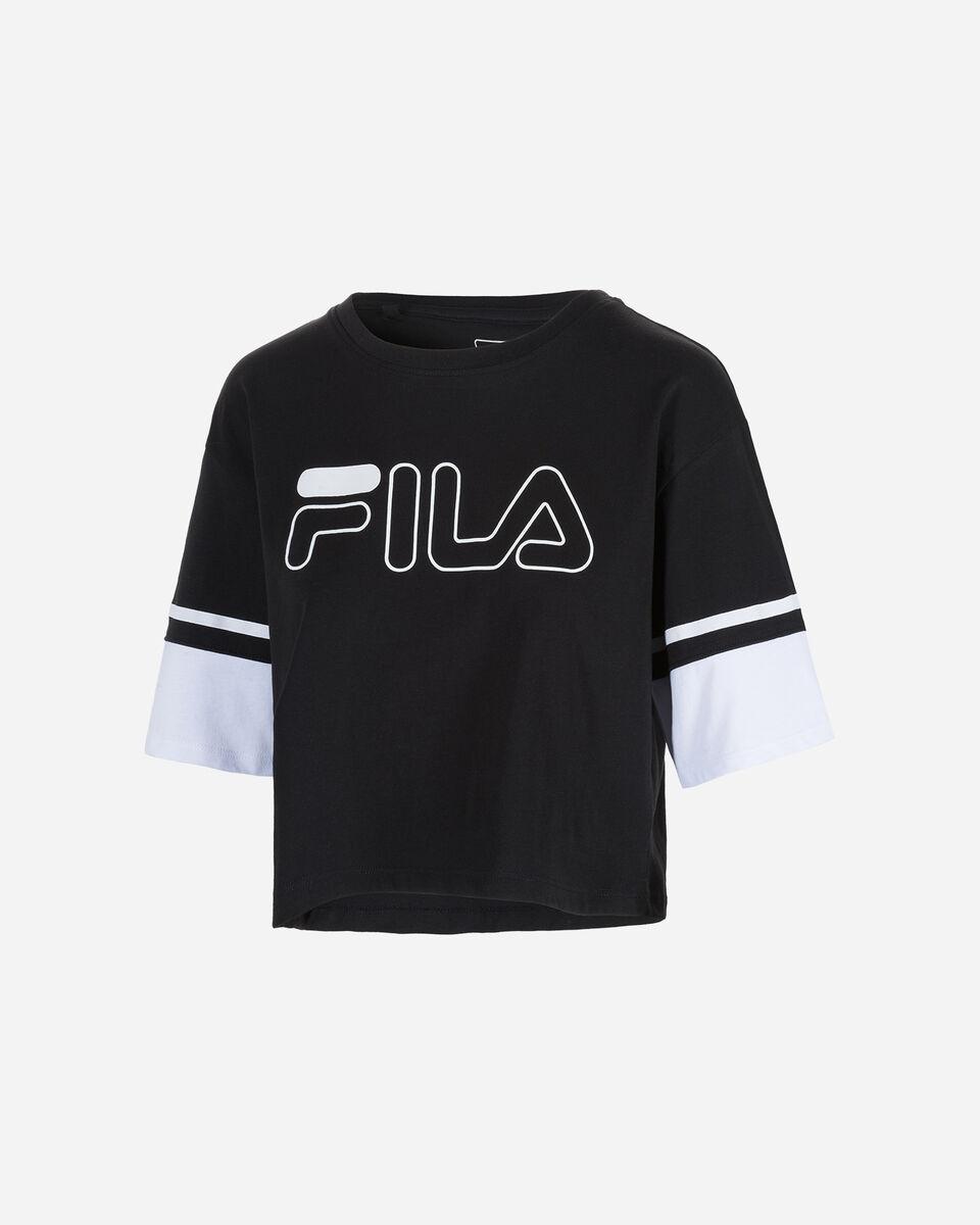 T-Shirt FILA LOGO W S4074228 scatto 5