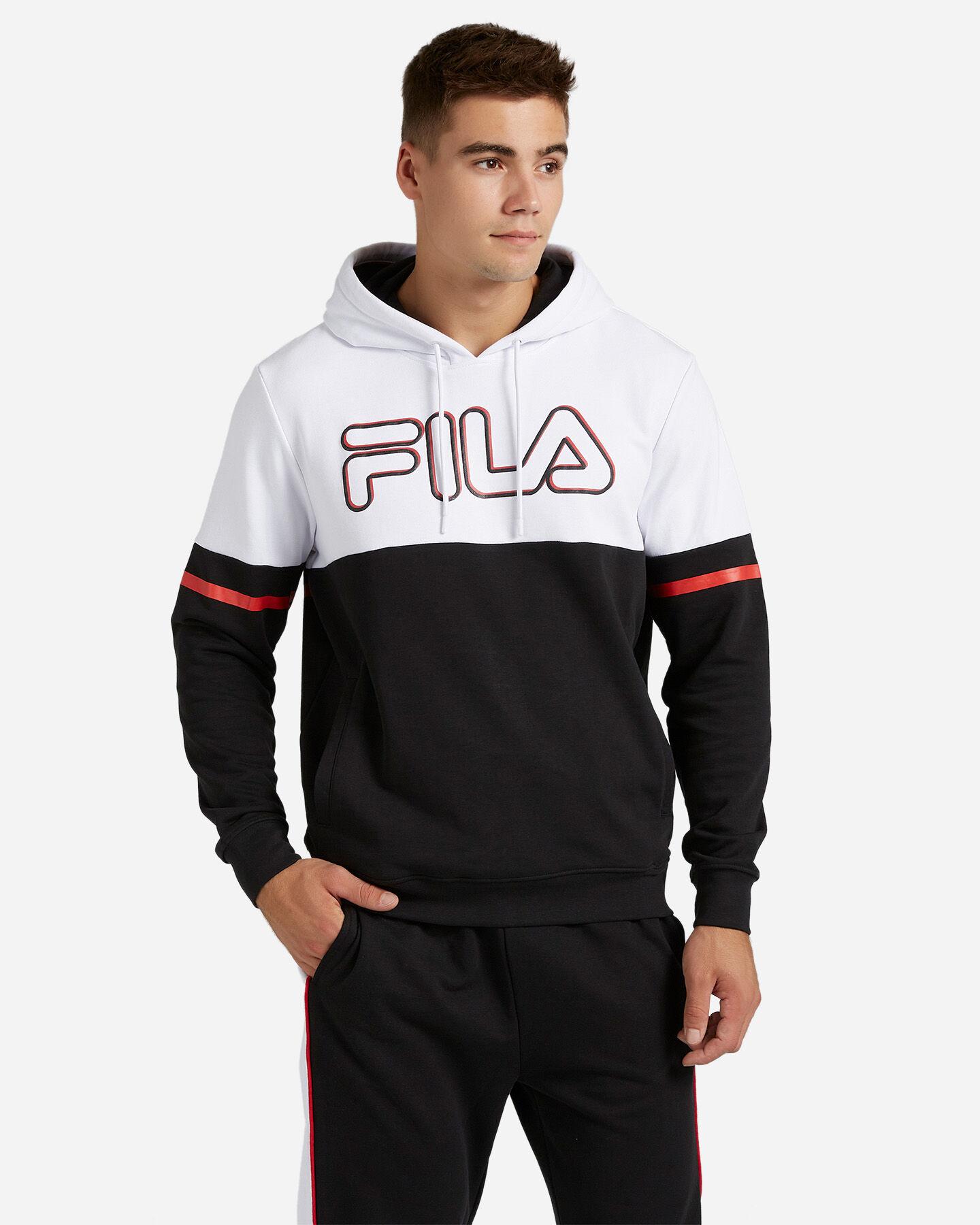 Felpa FILA BICOLOR M S4081047 scatto 0