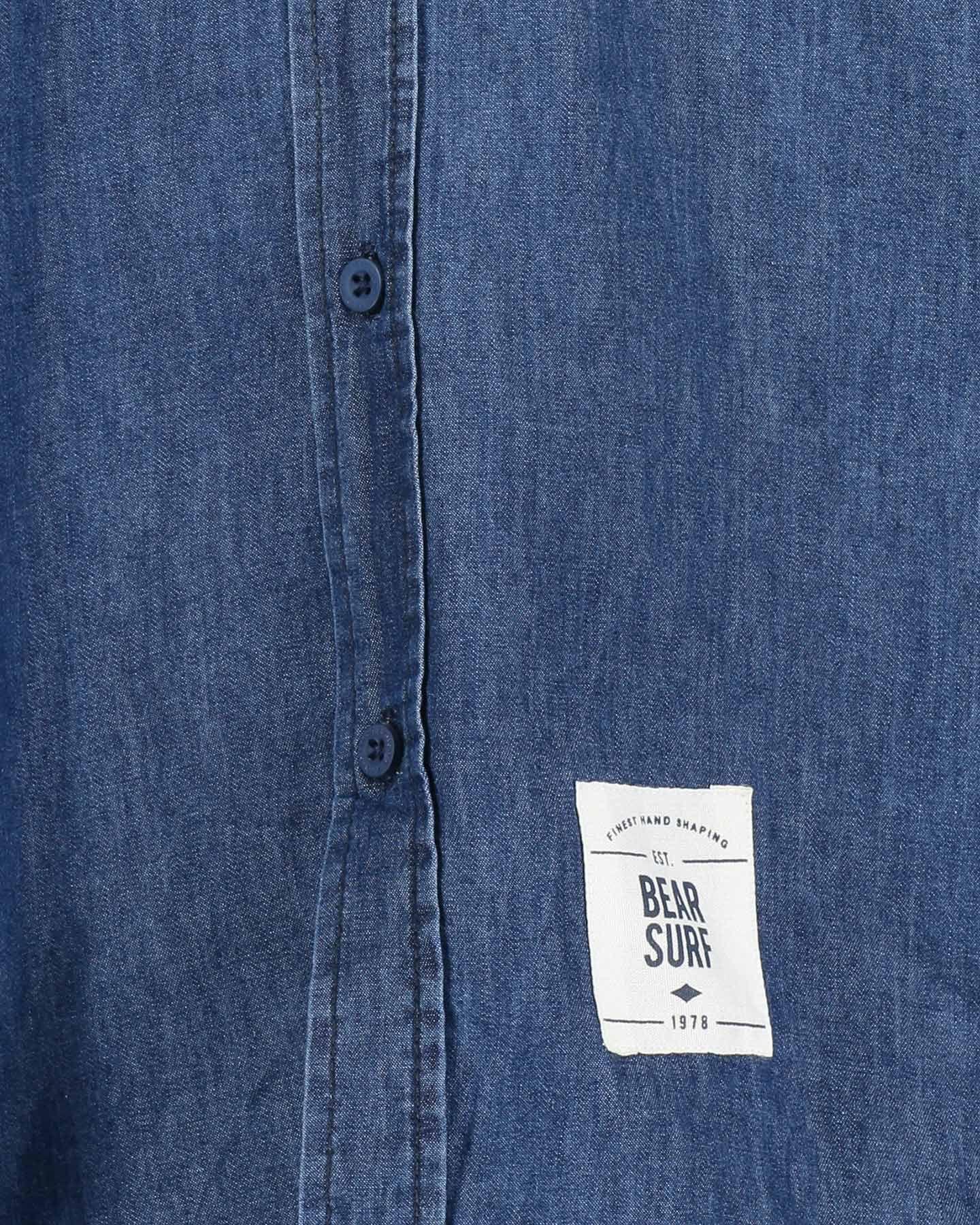 Camicia BEAR DENIM M S4070898 scatto 2