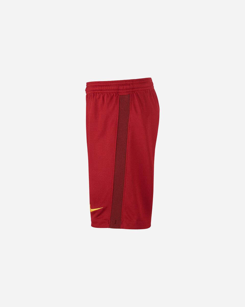 Pantaloncini calcio NIKE AS ROMA HOME 20-21 JR S5195476 scatto 1