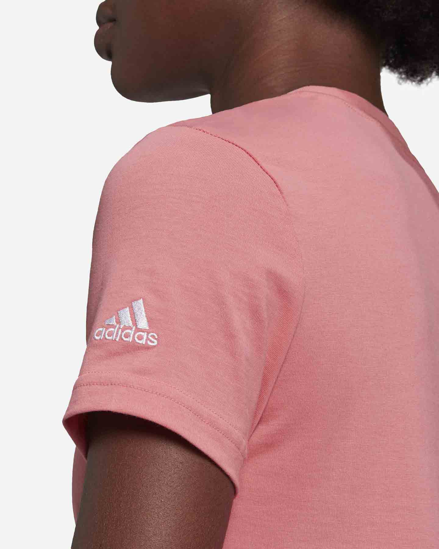 T-Shirt ADIDAS LINEAR W S5273057 scatto 5