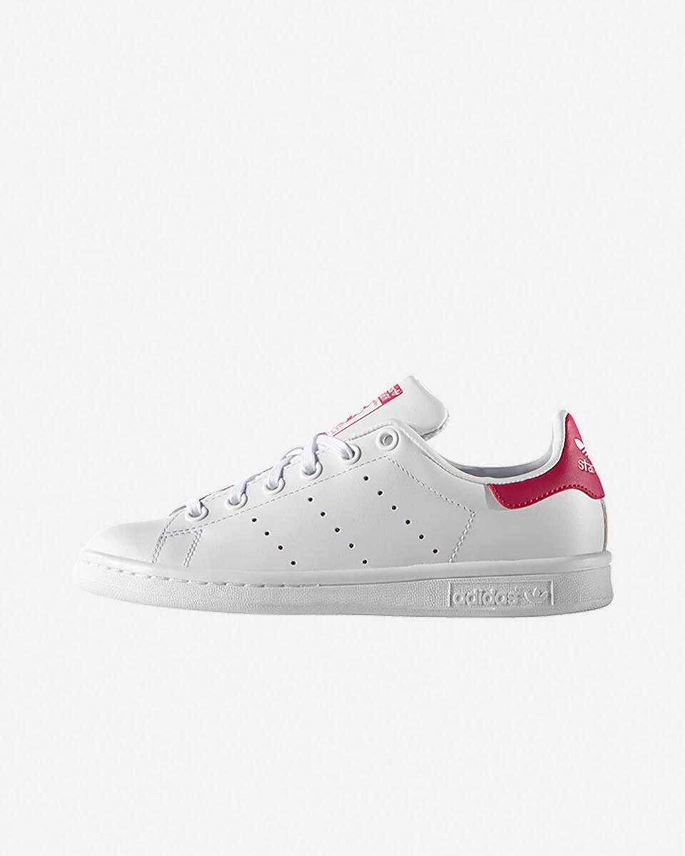 Scarpe sneakers ADIDAS STAN SMITH JR GS S5069438 scatto 4