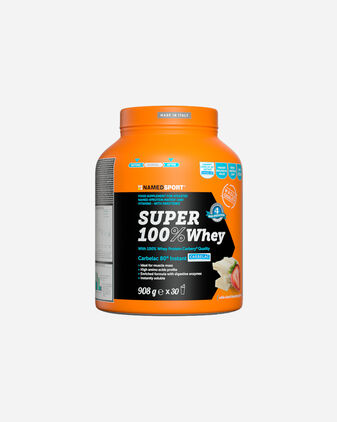 Energetico NAMED SPORT SUPER 100% WHEY WHITE CHOCO+STRAWBERRY 908G