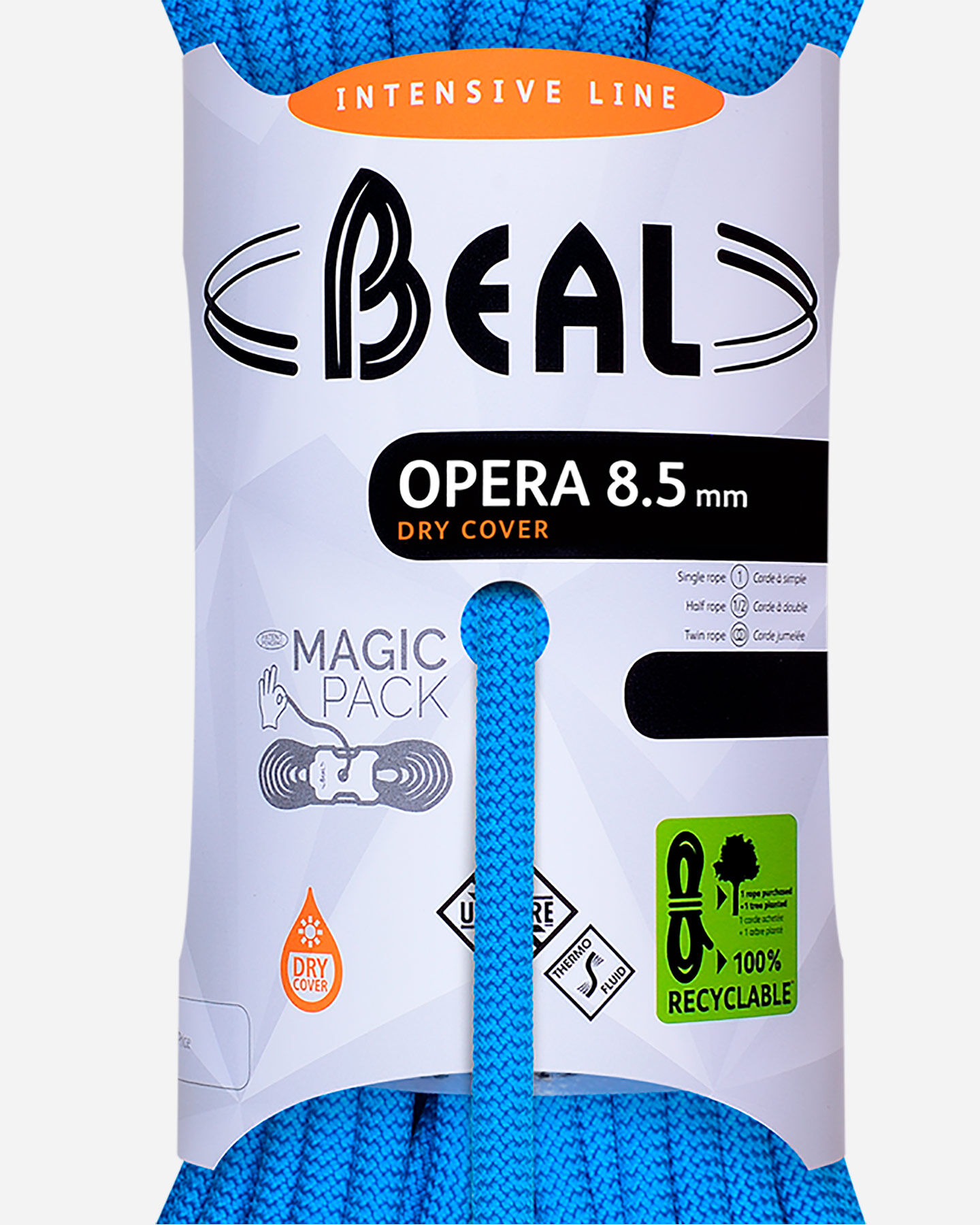 Corda BEAL CORDA BEAL OPERA 8,5MM X 60 MT C085.60 S1310320 scatto 1