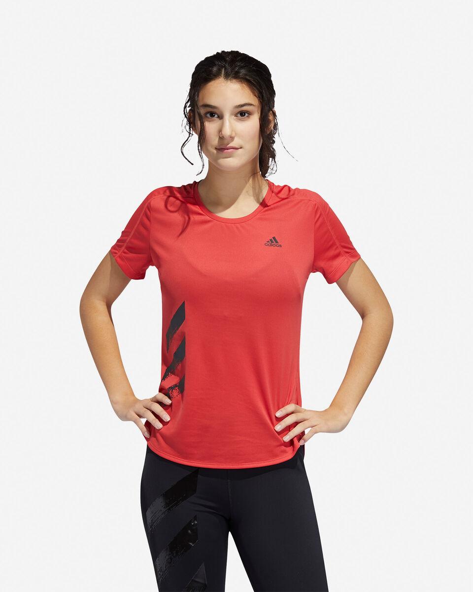 T-Shirt running ADIDAS RUN IT 3-STRIPES FAST W S5150018 scatto 2