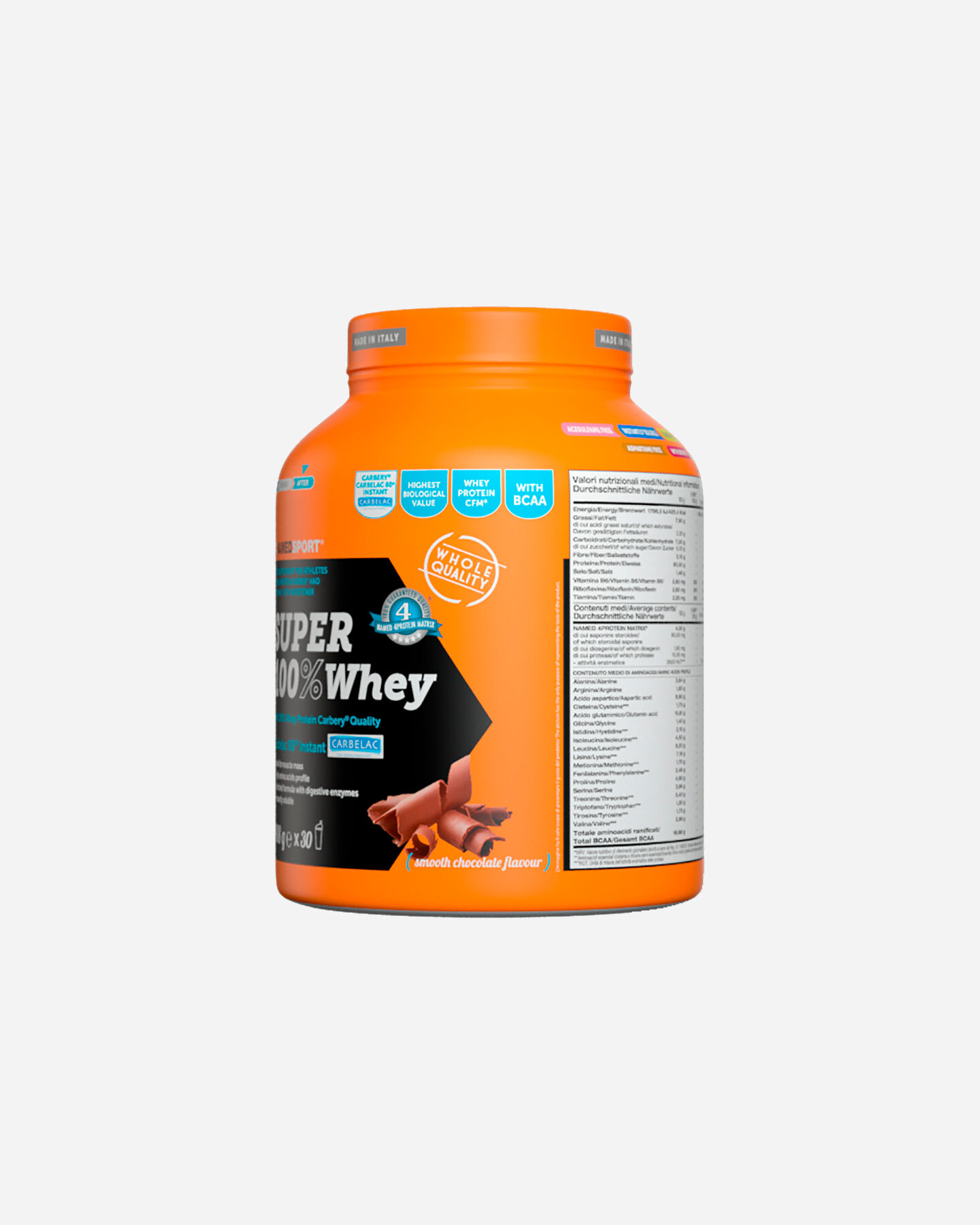 Energetico NAMED SPORT SUPER 100% WHEY SMOOTH CHOCOLATE 908G S1308870|1|UNI scatto 5