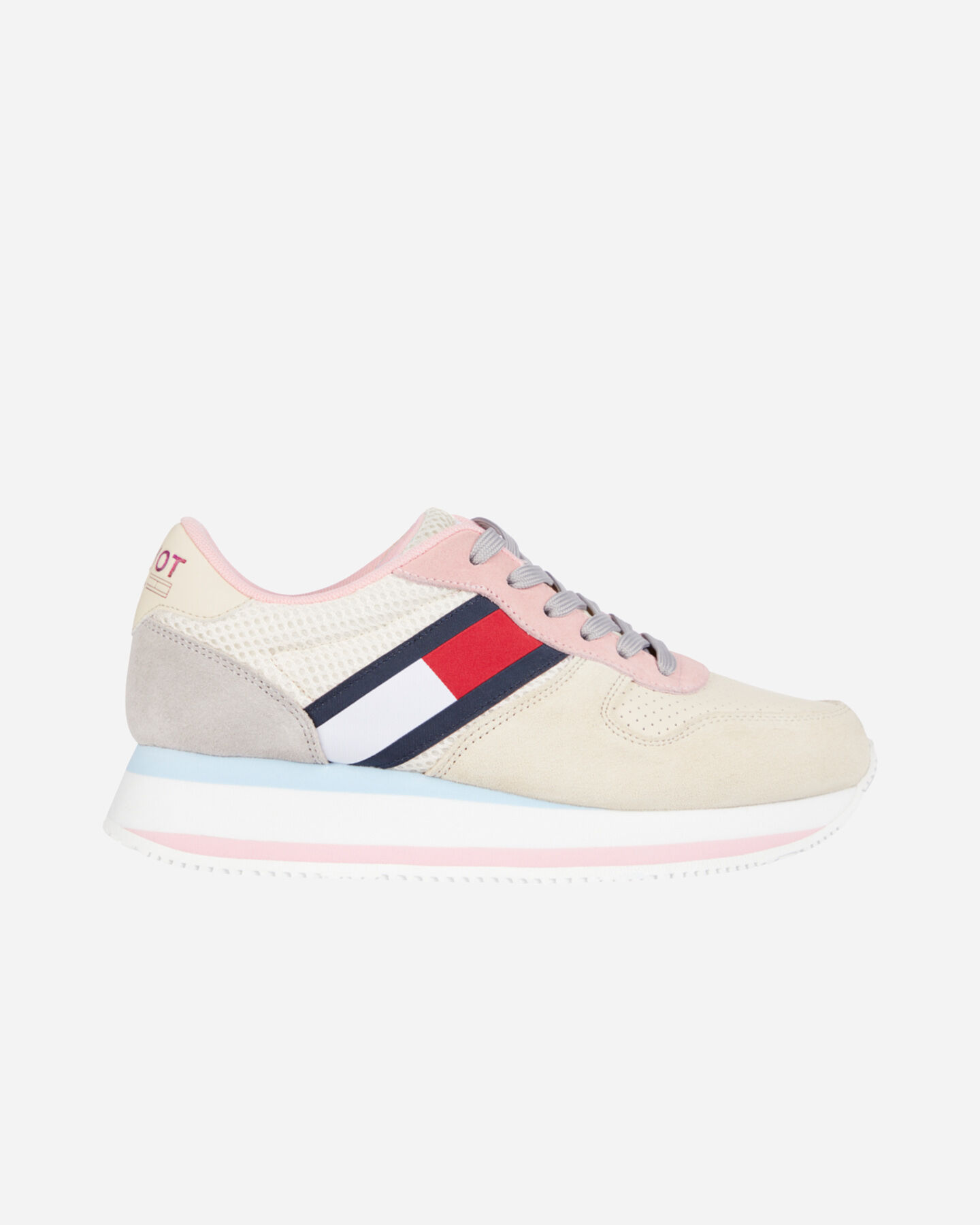 Scarpe sneakers TOMMY HILFIGER FLATFORM W  S4088123 scatto 0