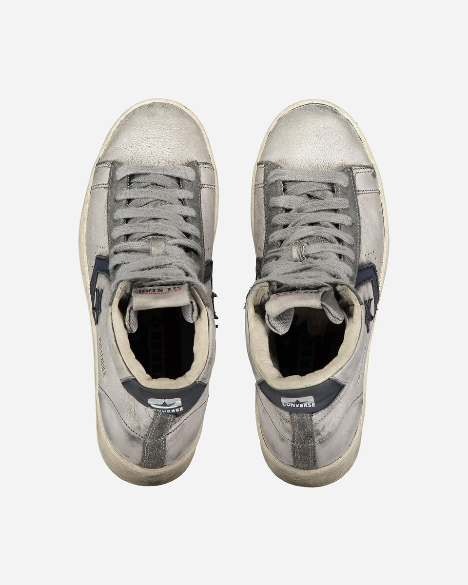 Scarpe sneakers CONVERSE SMOKE IN PRO LEATHER MID M S5238002 scatto 3