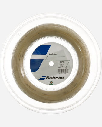 Corde tennis BABOLAT 200 MT ADDICTION NATURAL
