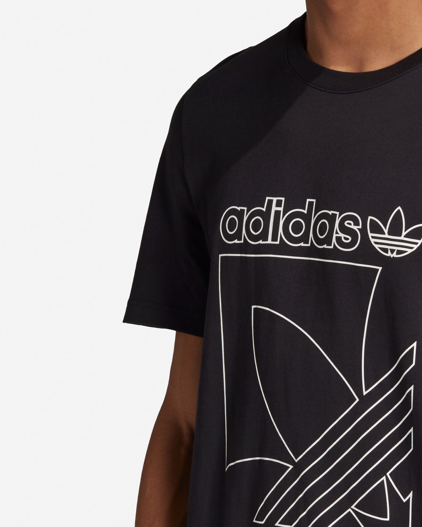 T-Shirt ADIDAS OUTLINE M S5210670 scatto 5