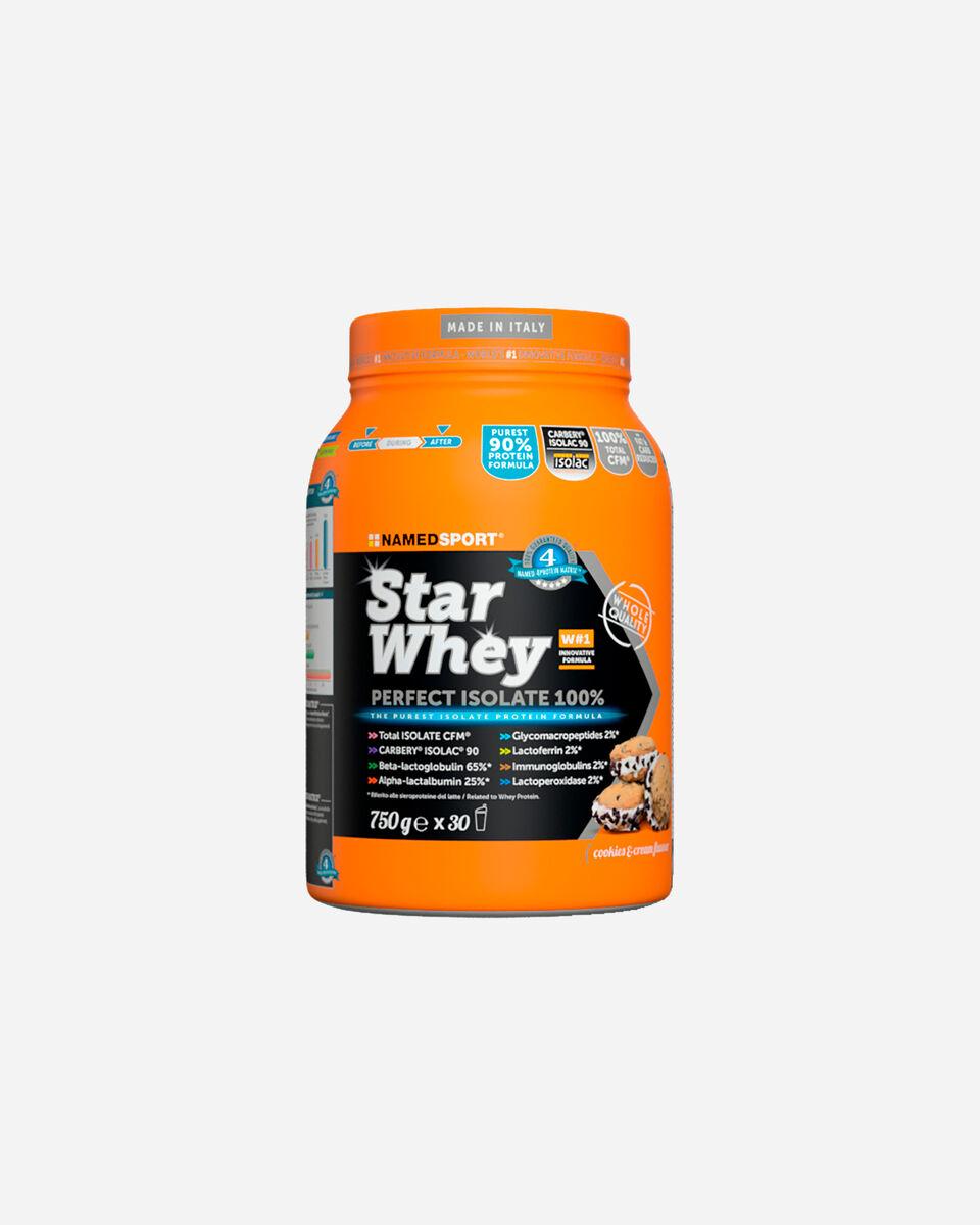 Energetico NAMED SPORT STAR WHEY ISOLATE COOKIES&CREAM 750G S1308867|1|UNI scatto 0